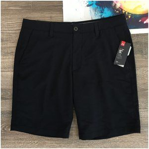 UNDER ARMOUR Match Play Golf Shorts Mens 36 Black
